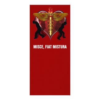 Caduceus Heart V-1, MISCE, FIAT MISTURA Rack Card