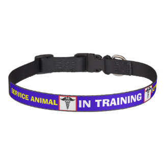 Caduceus IN TRAINING Service Animal Dog Collar