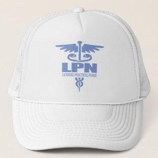 Caduceus LPN gift ideas Trucker Hat