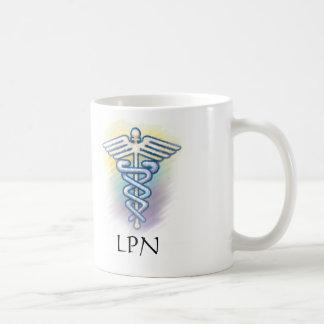 caduceus LPN mug