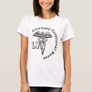 CADUCEUS LVN LOGO LICENSED VOCATIONAL NURSE T-Shirt