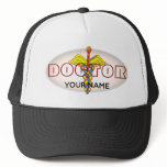 Caduceus M.D. Doctor Trucker Hat