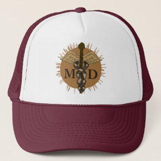 caduceus M.D. Trucker Hat