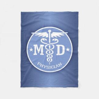 Caduceus MD 2 Fleece Blanket