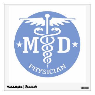Caduceus MD 2 Wall Sticker