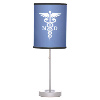 Caduceus MD (blue) Table Lamp