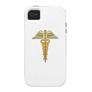 CADUCEUS MEDICAL SYMBOL Case-Mate iPhone 4 CASE