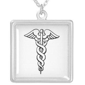Caduceus Medical Symbol Pendants