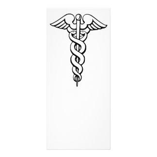 Caduceus Medical Symbol Rack Card