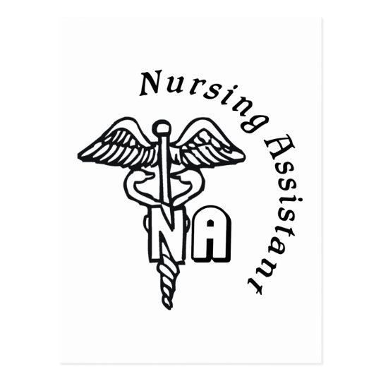CADUCEUS NA NURSING ASSISTANT POSTCARD