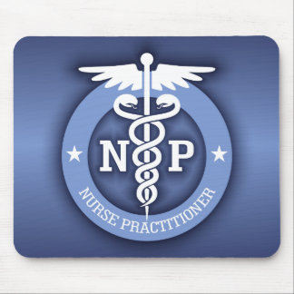 Caduceus NP (blue) Mouse Pad