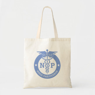 Caduceus NP (blue) Tote Bag