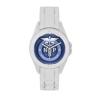 Caduceus NP (blue) Wristwatch