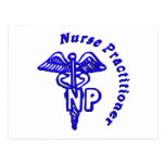CADUCEUS NP LOGO NURSE PRACTITIONER POSTCARDS