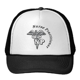 CADUCEUS NP LOGO NURSE PRACTITIONER TRUCKER HAT