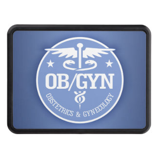 Caduceus OBGYN gift ideas Tow Hitch Covers