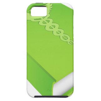 Caduceus on Green Book iPhone SE/5/5s Case
