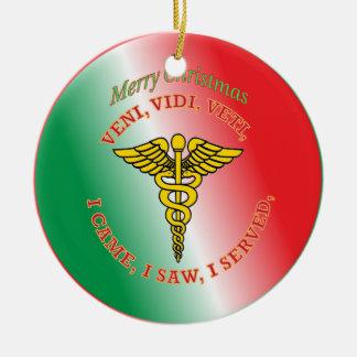 Caduceus Christmas Tree Ornaments