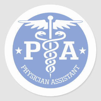 Caduceus PA2 gift ideas Classic Round Sticker