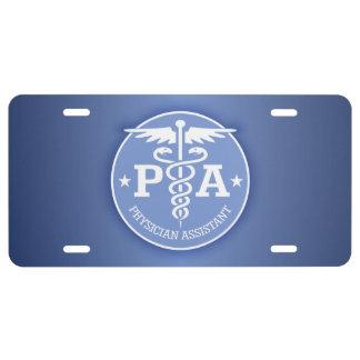 Caduceus PA2 gift ideas License Plate