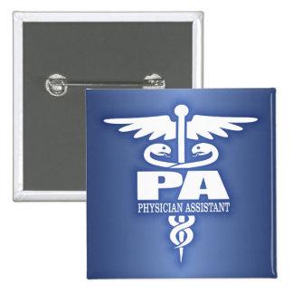 Caduceus PA Pinback Button