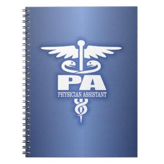 Caduceus PA Spiral Notebook