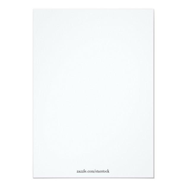 Caduceus, Parchment, Medical Graduate Annoucement 5x7 Paper Invitation Card (back side)