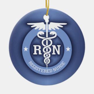 Caduceus RN 2 (Blue) Ornament