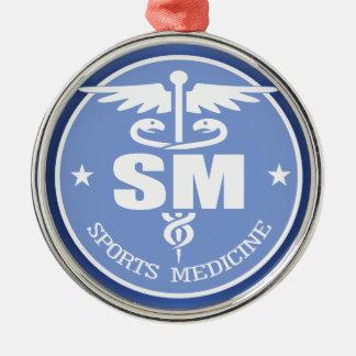 Caduceus SM 2 Metal Ornament