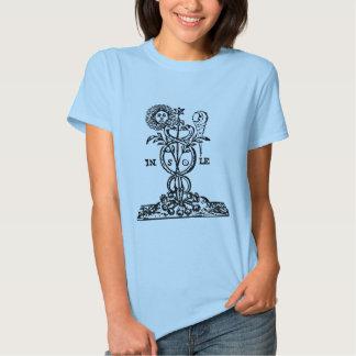 caduceus_symbal tee shirt