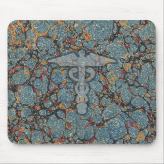 Caduceus the medical symbol for a doctor or nurse mouse pad