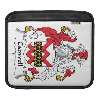 Cadwell Family Crest iPad Sleeves