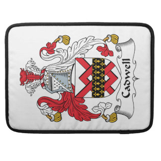 Cadwell Family Crest Sleeve For MacBook Pro