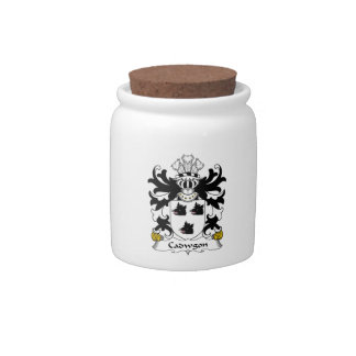 Cadwgon Family Crest Candy Dish