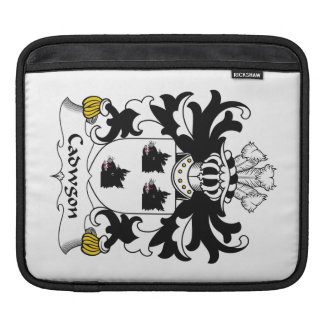 Cadwgon Family Crest iPad Sleeve
