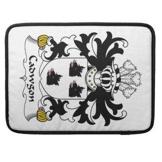 Cadwgon Family Crest Sleeves For MacBook Pro
