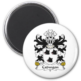 Cadwgon Family Crest Refrigerator Magnets
