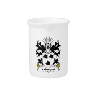 Cadwgon Family Crest Drink Pitchers