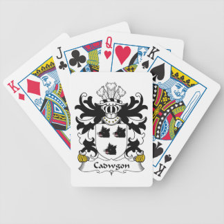 Cadwgon Family Crest Playing Cards