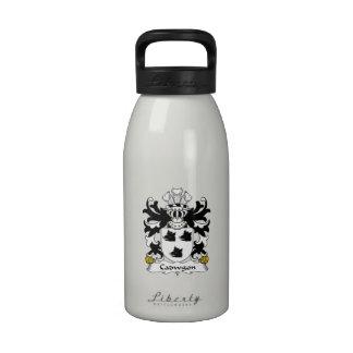 Cadwgon Family Crest Drinking Bottles
