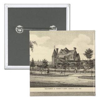 Cady and Kilpatrick, Nebraska Pinback Button