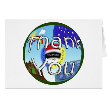 "CAE Discovery Club Gang ""THANK YOU NOTE"" (guides) Card"
