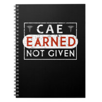 CAE Nurse Allergist Asthma Educator Earned Nurse Notebook