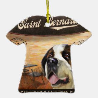 Cae Saint Bernard Ornaments