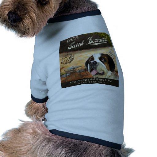 Cae Saint Bernard Pet Tee Shirt