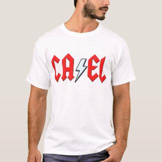 Cael Rock and Roll Lightning Bolt shirt