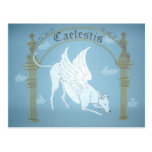 "Caelestis ""Hound of Heaven"" post card"