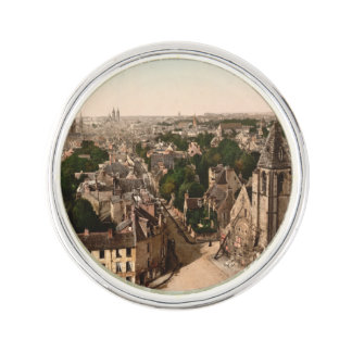 Caen, Basse-Normandie, France Lapel Pin