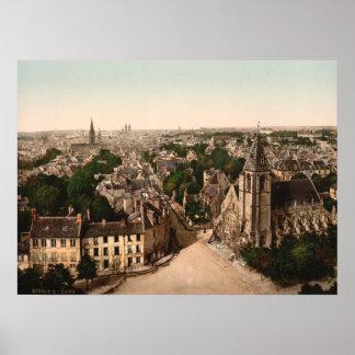 Caen, Basse-Normandie, France Poster