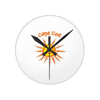Caep Cod Round Clocks